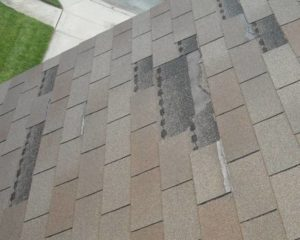 Roof Repair - Missing Shingles- Heritage Constructions Co. - Home Improvement Loans