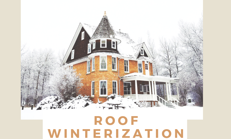 Roof Winterization Tips - Heritage Construction Co.