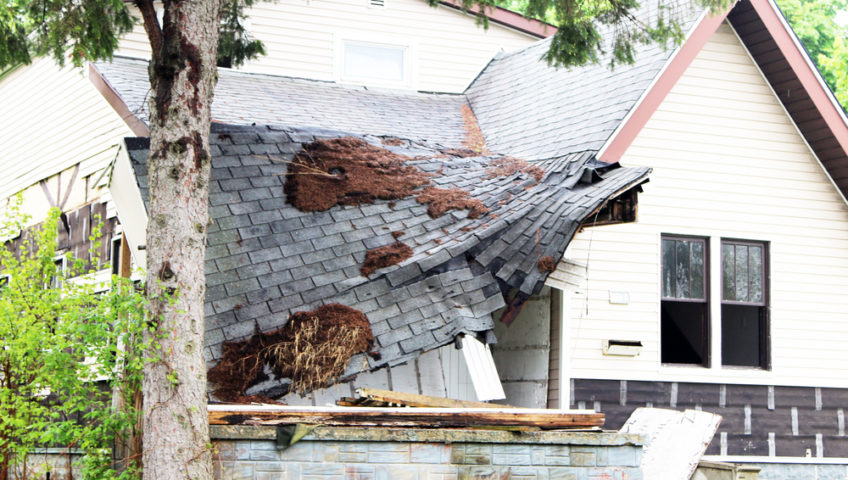 Roof Collapse - Heritage Construction Col