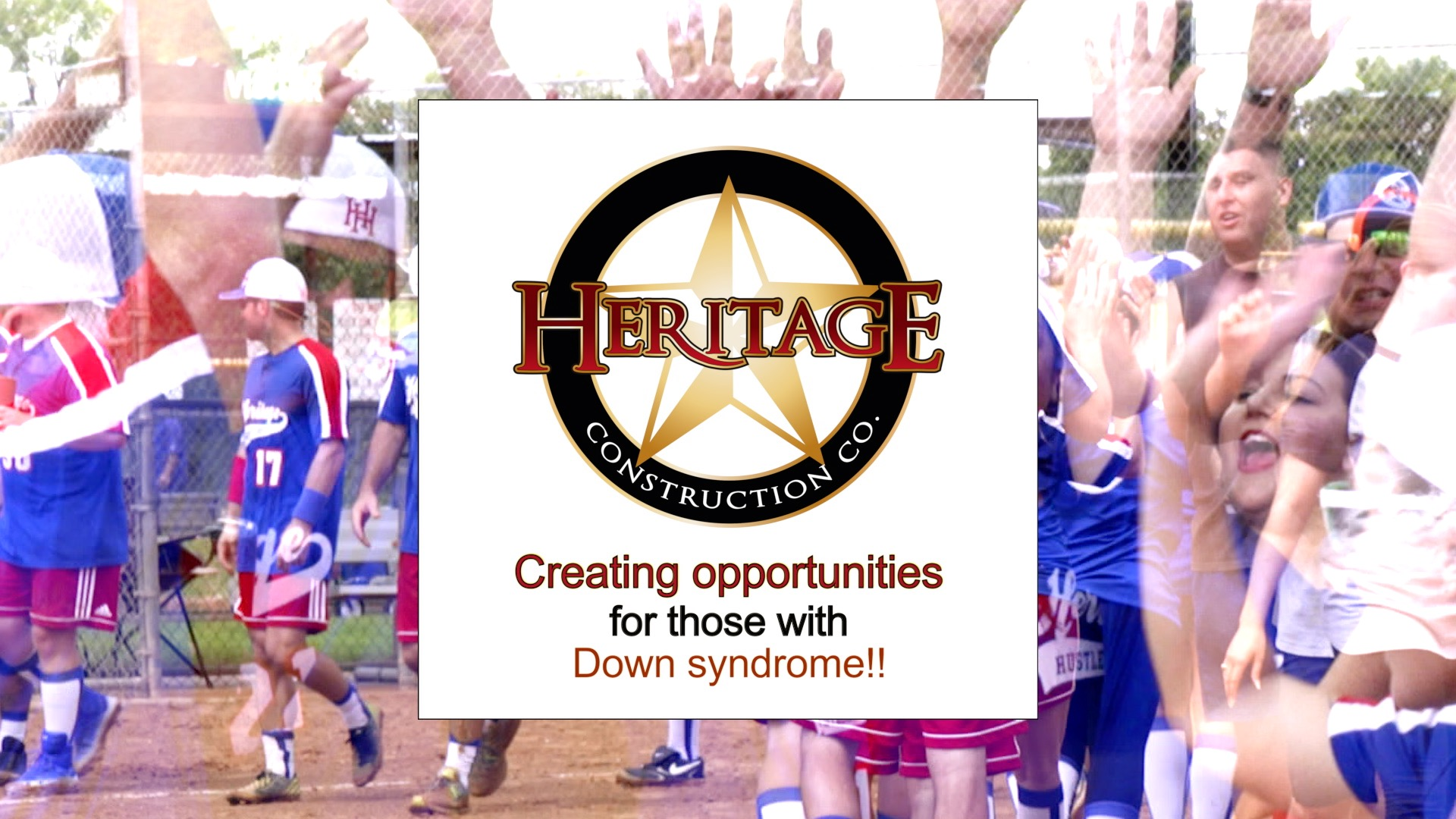 Heritage Construction Co. Down Syndrome Charity Kickball Tournament