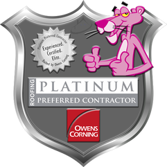 Owens Corning Platinum Preferred Roofing Contractor - Heritage Construction Co.